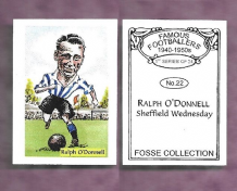 Sheffield Wednesday Ralph O`Donnell 22 (FC)